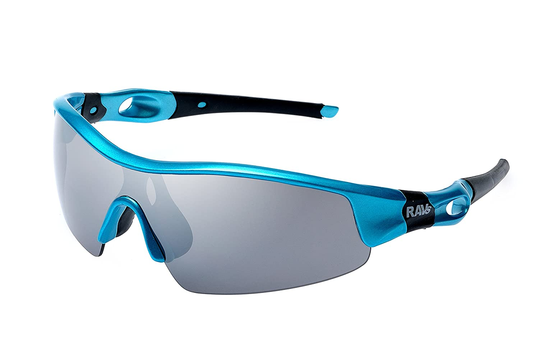 Ravs Leichte Unisex Sportbrille Skibrille mit Band und Bügel inkl.Softbag (Blau) T0XAyd