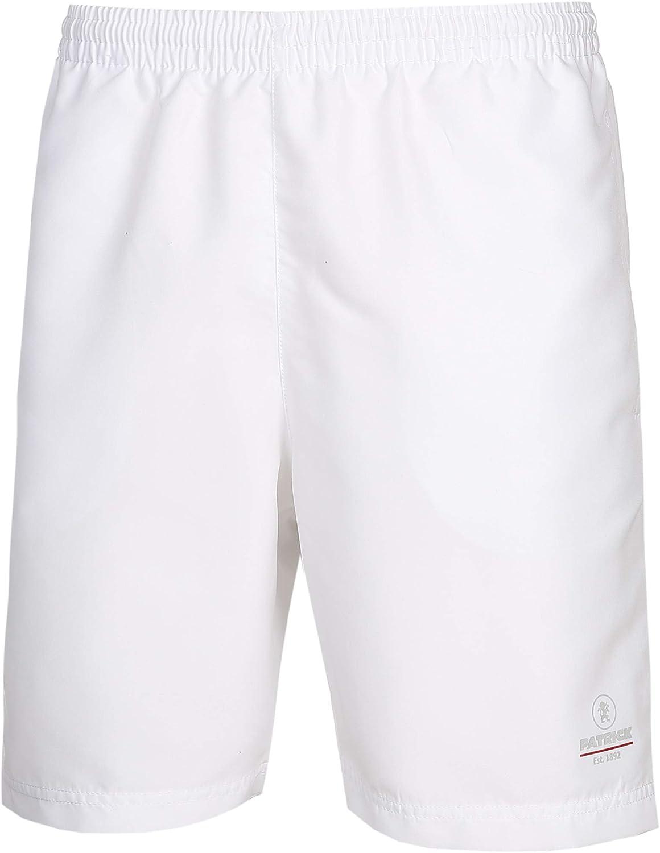 Pantalones cortos deportivos para hombre – Pantalones cortos elásticos para hombre, 100% microfibra de poliéster, ideal para tenis, fitness, senderismo y golf, Patrick Exclusive Line