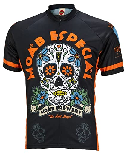 World Jerseys Moab Brewery Especial Cycling Jersey Men s Short Sleeve  (2X-Large) 092fa46a8