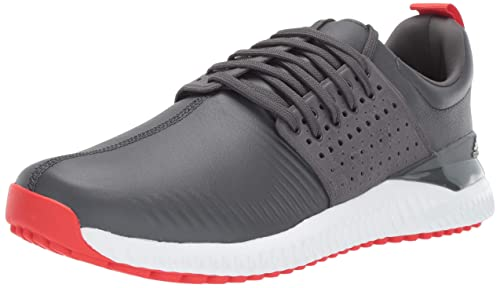 new arrival 7a661 a7c9a Adidas Mens Adicross Bounce Golf Shoe, Grey sixActive redFTWR White,