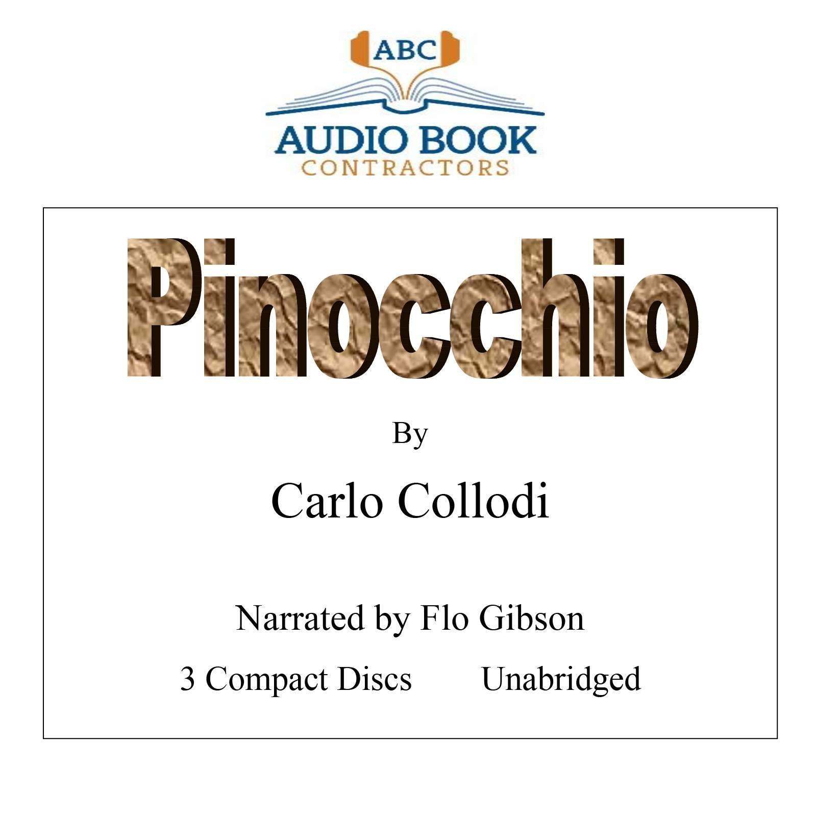Pinocchio (Classic Books on CD Collection) [UNABRIDGED] PDF