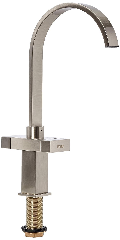 Enki Modern Stahl gebürstet Nickel Küche Spüle Armatur Wasserhahn ...