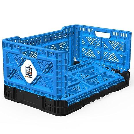 Amazon.com: Caja de leche plegable BIGANT con ruedas ...