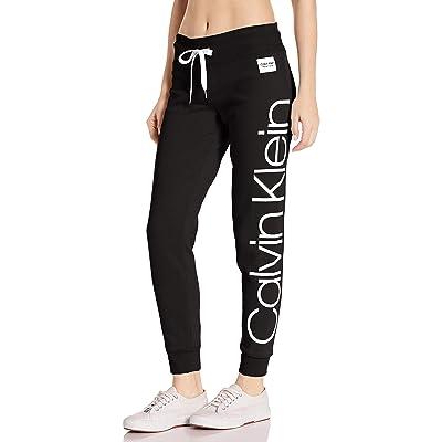 Calvin Klein Women's Jumbo Logo Full Length Jogger at Women's Clothing store