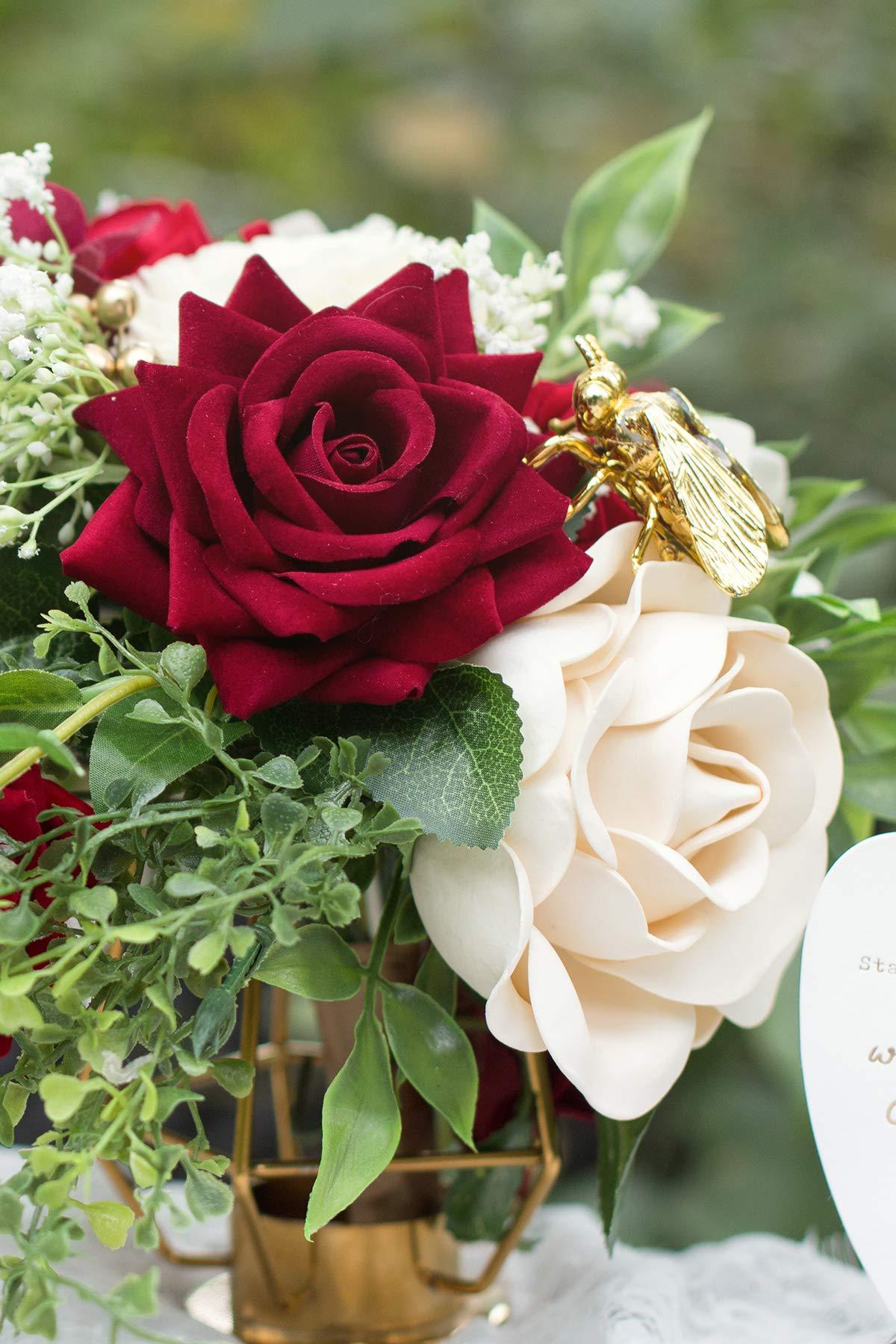 Lings-moment-Artificial-Velvet-Roses-Flowers