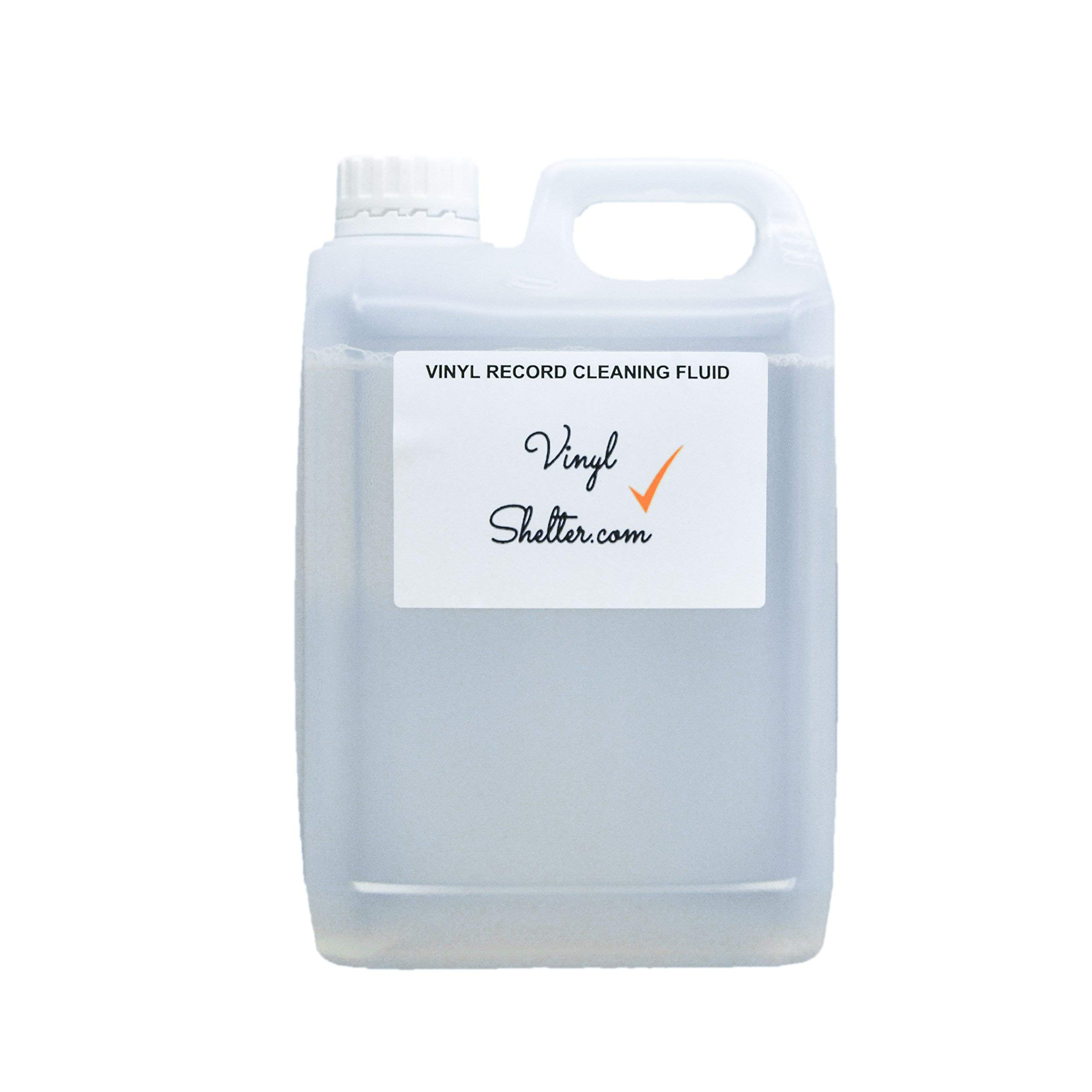 Vinyl Shelter Record Cleaning Fluid. Anti-static cleaner suitable for Knosti etc (2.5L)