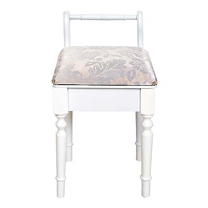 Mobili Rebecca® Sgabello per Tavolo da Trucco Seduta per Pianoforte ...