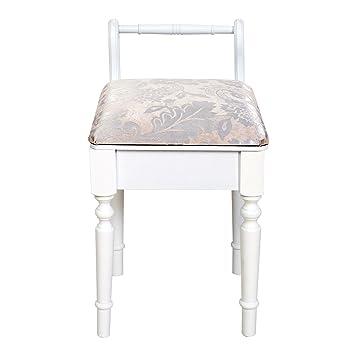 mobili rebecca® sgabello per tavolo da trucco seduta per ... - Mobili Per Trucco