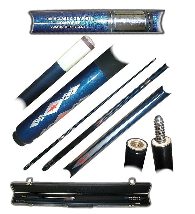 Trademark Fiberglass Blue Diamond Star Pool Stick: Amazon.es ...