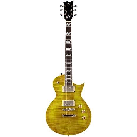 Esp Ltd EC-256 FM Guitarra eléctrica con parte superior flameado ...