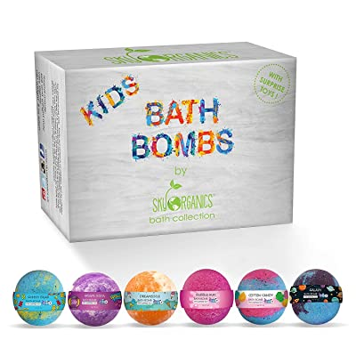 Sky Organics Kids Bath Bombs Gift Set