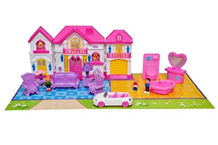 Buy Sunshine Big Size 30 Inches Sweety Home Doll House Set With