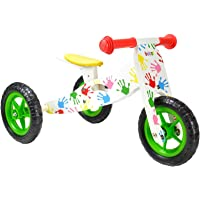 Tricycle de Dã©veloppement de l'équilibre 2-en-1 en Bois boppi® - Multicouleur