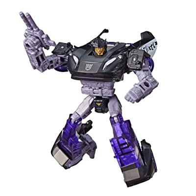 Transformers Toys Generations War for Cybertron Deluxe WFC-S41 Barricade Figure - Siege Chapter - Adults and Kids Ages 8 and Up, 5.5-inch: Toys & Games