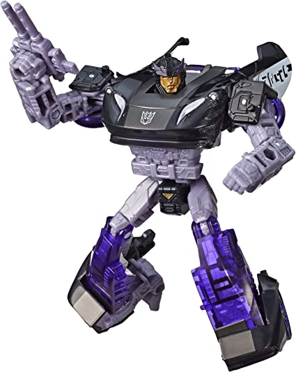 Transformers Siege War For Cybertron Action Figure Deluxe Class Prowl
