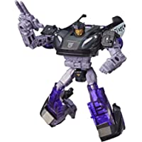 """TRANSFORMERS Barricade Deluxe Class 5.5"""" Action Figure - Generations War for Cybertron Siege - Kids Toys - Ages 8+"""