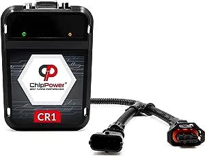 Chip de Potencia ChipPower CR1 para Doblo 1.3 JTD 51 kW 70 CV 2001-2011 Tuning Box con Plug/&Drive Diesel ChipBox con un Enchufe Adaptado
