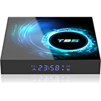 T95 Smart TV Box Android 10 4GB 64GB Allwinner H616 Quad Core CPU 2.4G 5G Dual WiFi BT LAN Support 1080P H.265 4K Set top Box