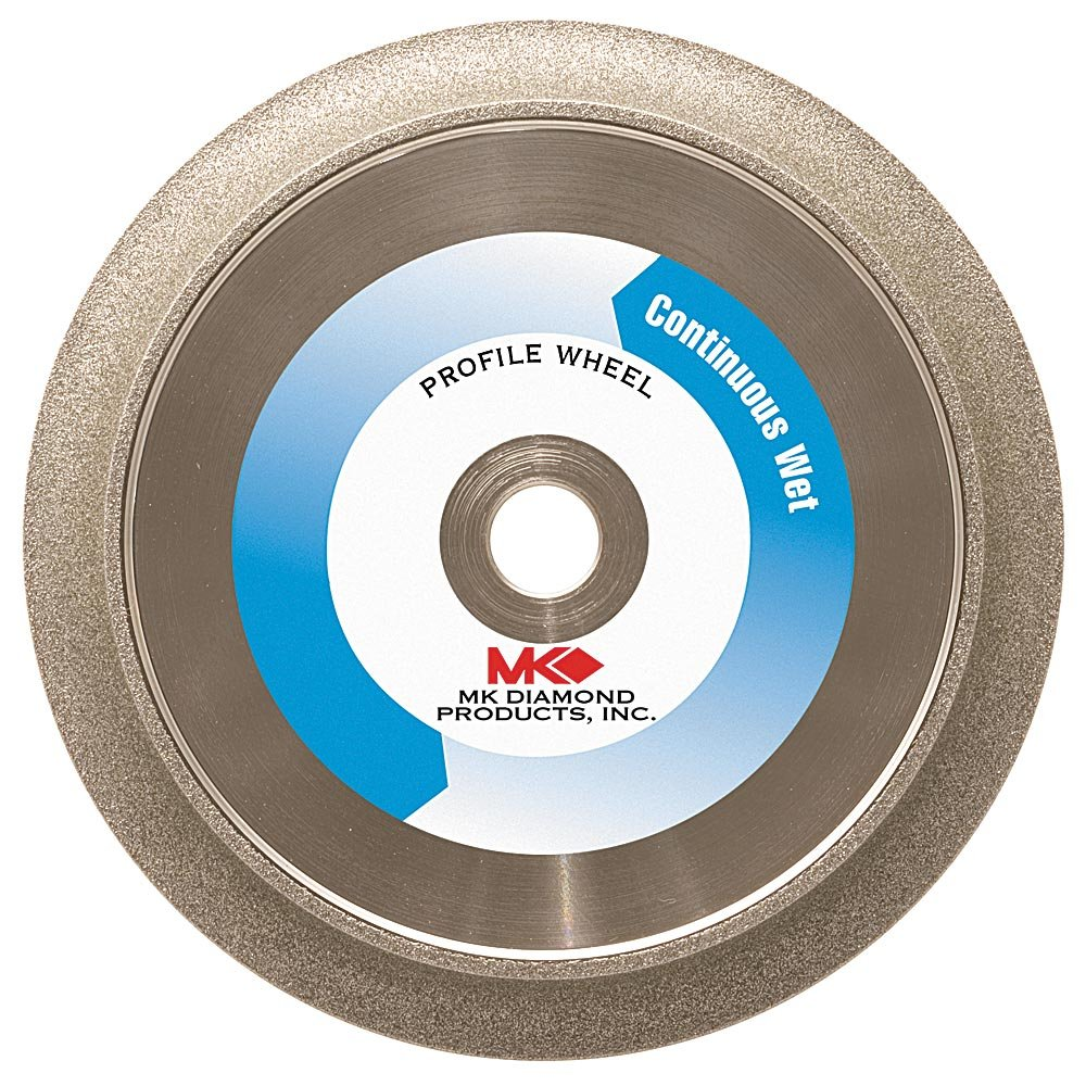 MK Diamond 152080 6-Inch 45 Degree Bevel Electroplated Profile Wheel