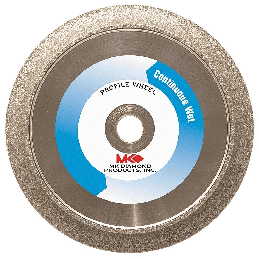 MK Diamond 154025 MK-275 8-Inch 3/8-Inch Radius Electroplated Profile Wheel