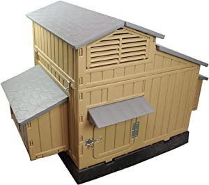 SnapLock Formex Large Chicken Coop Backyard Hen House 4-6 Large 6-12 Bantams