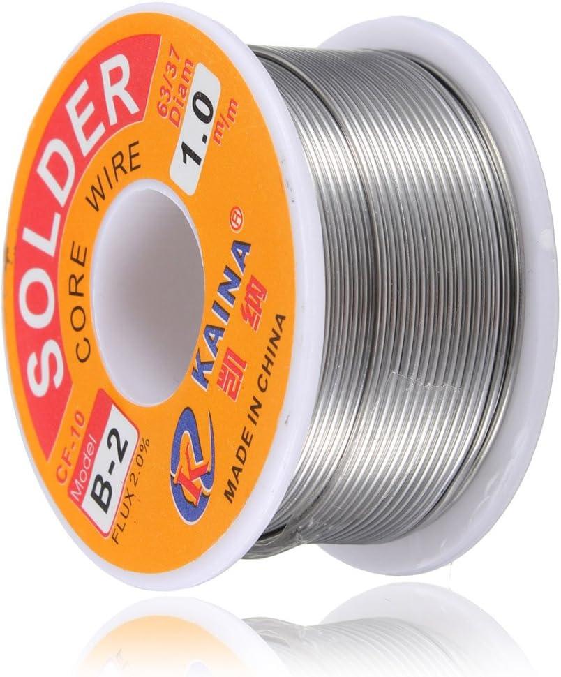 1mm Rosin Core Solder 63//37 Tin Lead Line Flux Welding Iron Wire Reel SG