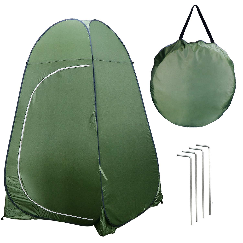 Tente de Chambre dintimit/é de Douche pour Se Baigner Se V/êtir Ext/érieur KEESIN Pop Up Camping Tente de Toilette
