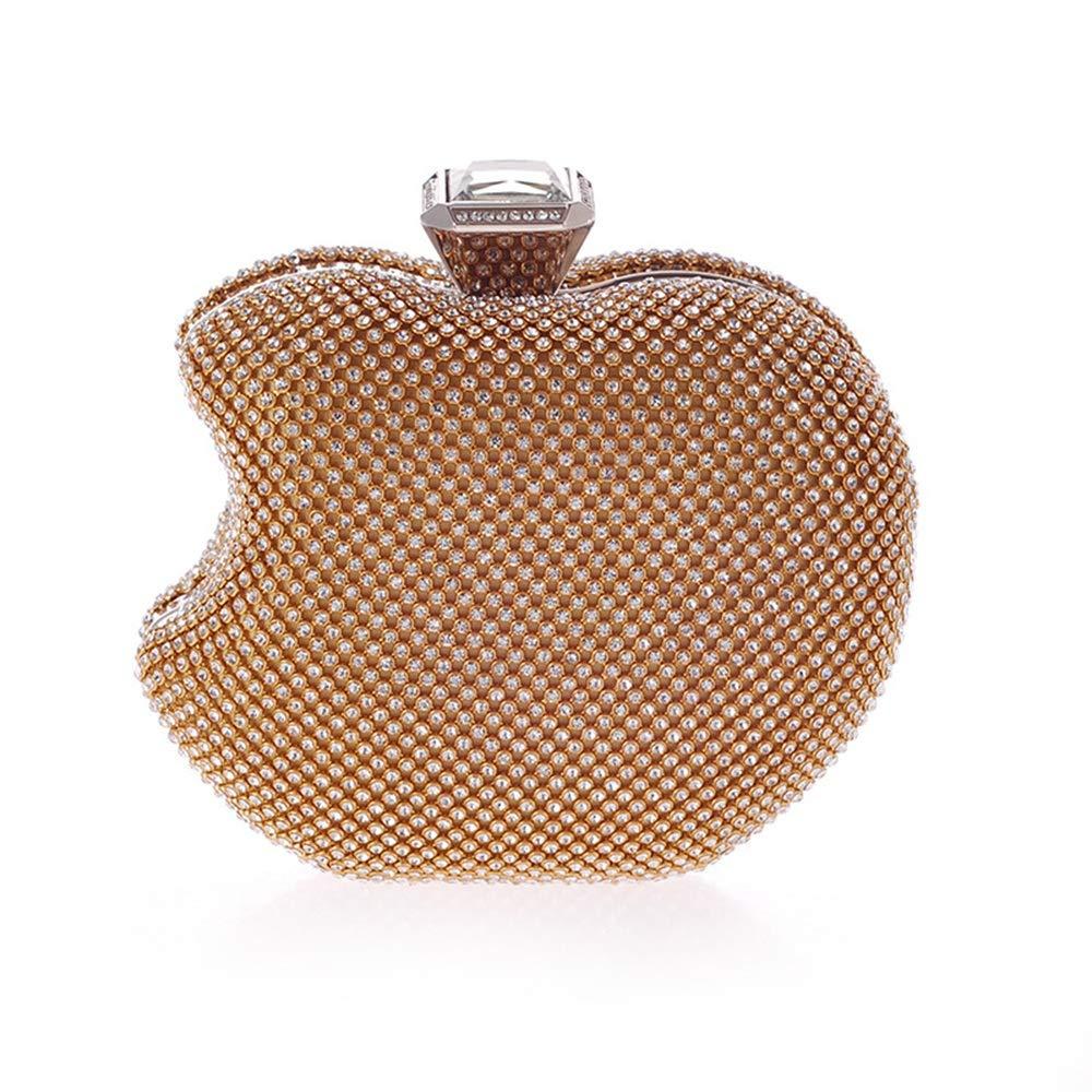 Yhjklm Clutch Abendtasche Business Business Business Damen Damen Apple Form Abendtasche Clutch Handtasche Party Hochzeit Taschen (Farbe   Gold) B07PM1155D Clutches Qualifizierte Herstellung 98a788
