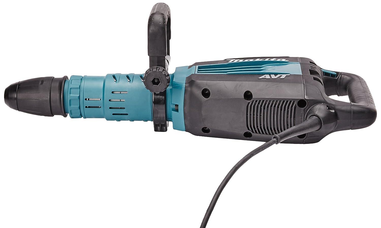 Makita Hm1214c 240 V Sds Max Avt Demolition Hammer In A Carry Case Pointet Chisel Pahat Bosch 400 Mm 10 Piece Diy Tools