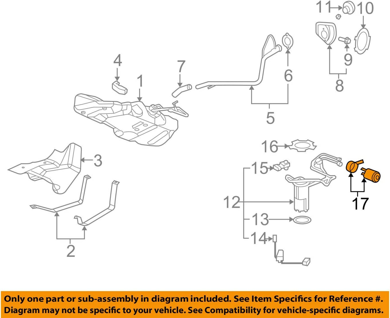 [DIAGRAM_09CH]  Amazon.com: General Motors 22734980, Fuel Filter: Automotive | 2007 Saturn Ion Fuel Filter |  | Amazon.com