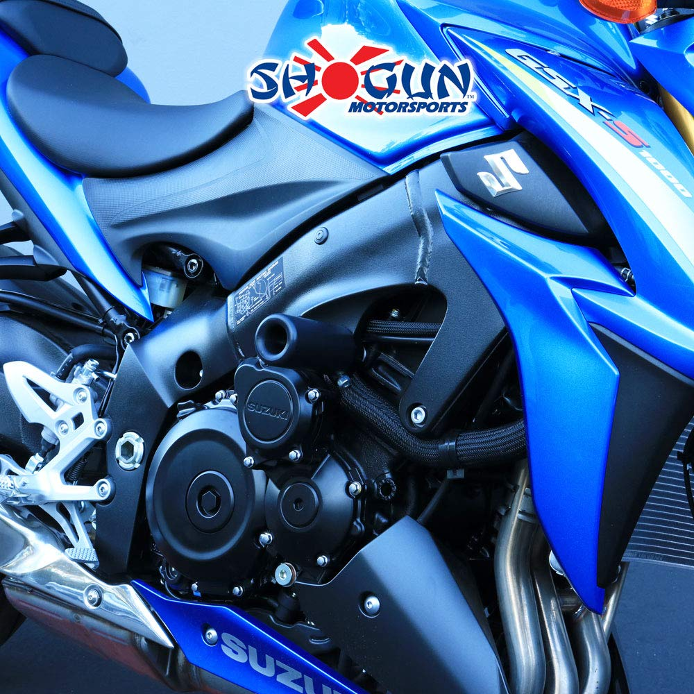 Shogun 2016-2019 Suzuki GSX-S1000 2018-2019 GSX-S750 Front Axle Sliders MADE IN THE USA 702-5629