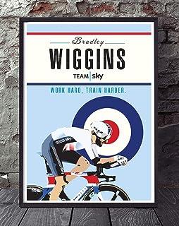 Bicycle Bike Race Poster Wall Art Print Home D/écor cycling cycle Paris Roubaix Sean Kelly a3 Unframed Print