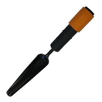 Fiskars Unkrautstecher, Werkzeugkopf, Breite: 3,5 cm, Stahl-Kopf, Schwarz/Orange, QuikFit, 1000731