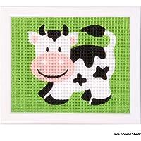 Vervaco - Kit para Tapiz, diseño de Vaca