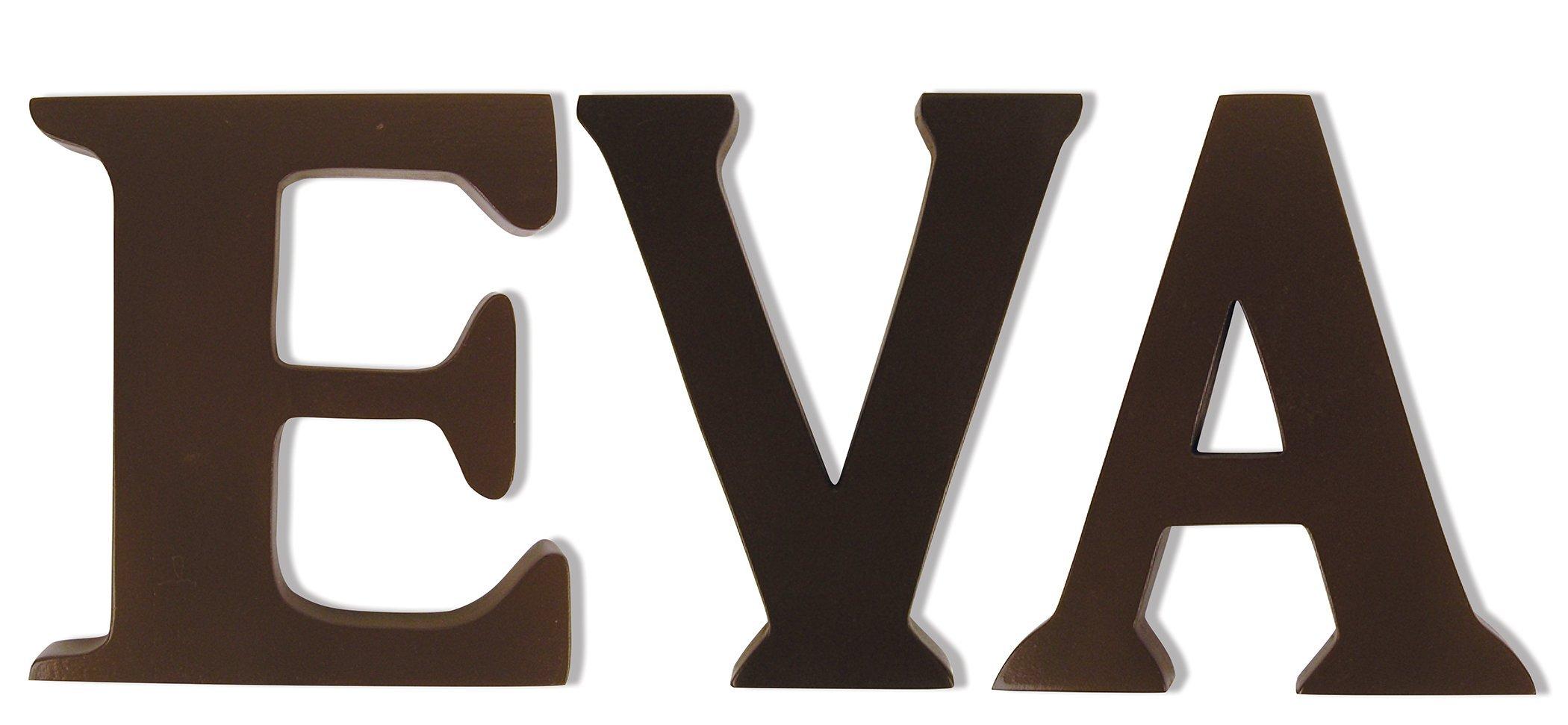 Wood Letter Kit- Eva