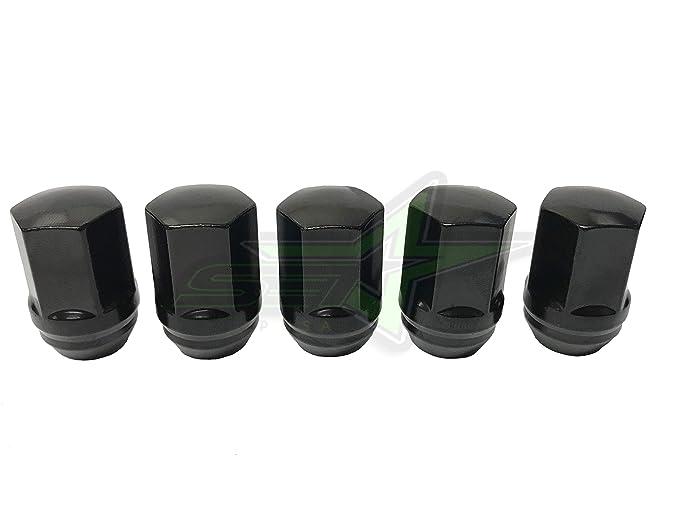 SET Group USA 20x Black OEM Lug Nuts Fits Tesla Model S Model 3 Model X 14x1.5