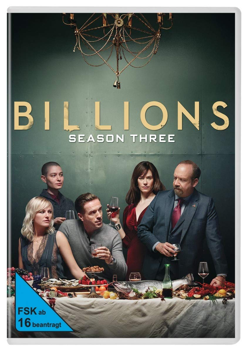 Billions Staffel 3 4 Dvds Amazonde Dvd Blu Ray