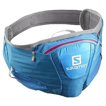 Salomon Mochilas de hidratación Agile Belt Blue/Pink Uni: Amazon.es: Deportes y aire libre