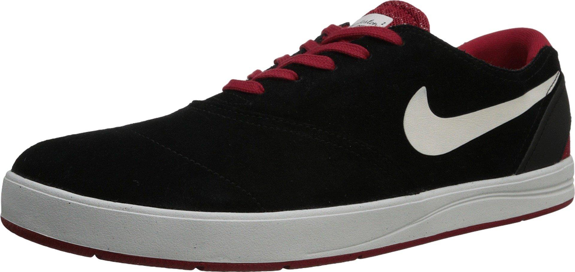Nike AIR Jordan Legacy 312 Mens (12, Black, Black-fire Red)
