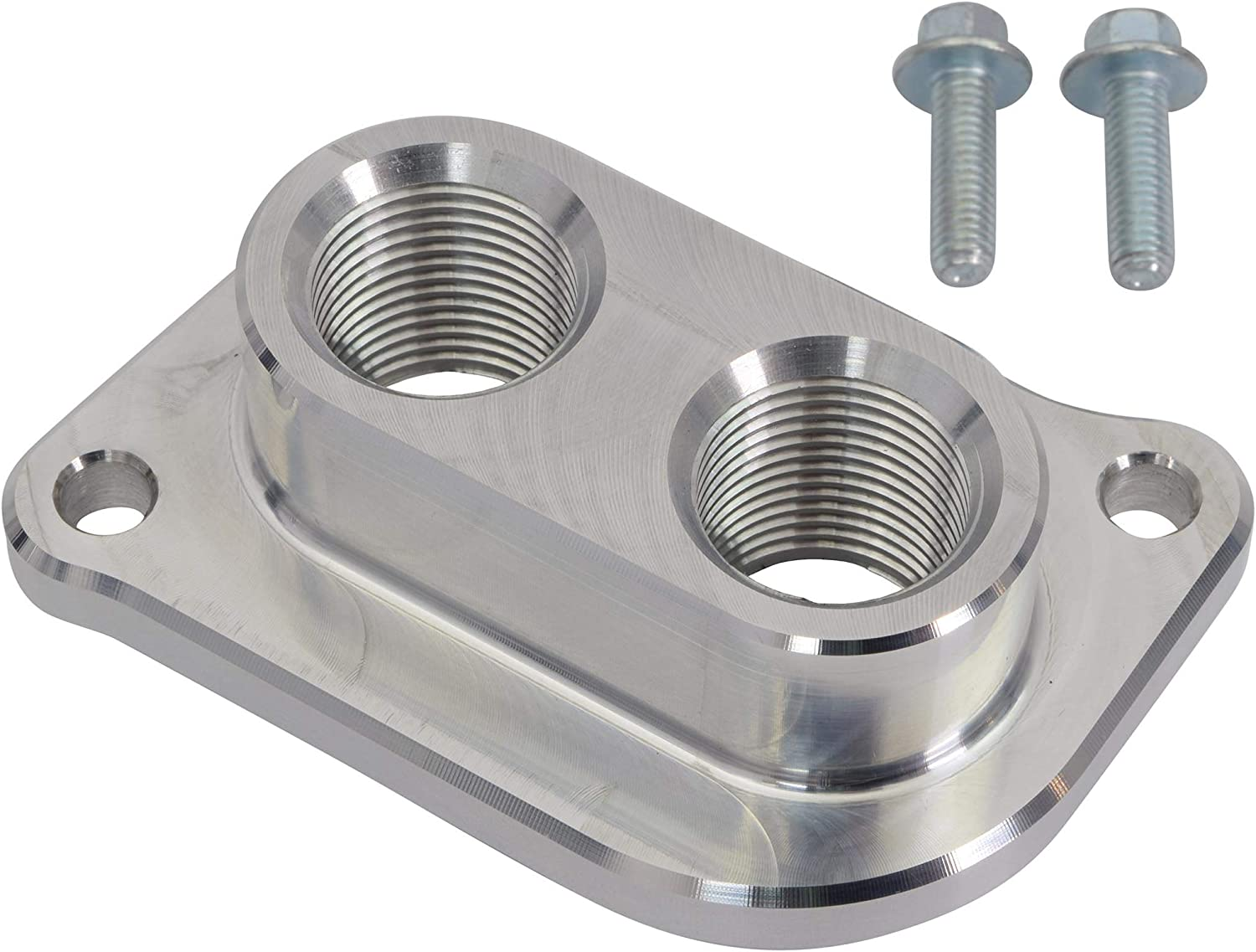 ICT Billet 10AN ORB Intercooler Fitting Water Manifold Adapter Compatible with CTS-V LSA Supercharger Lid Designed /& Manufactured in the USA CTSV 551701Z