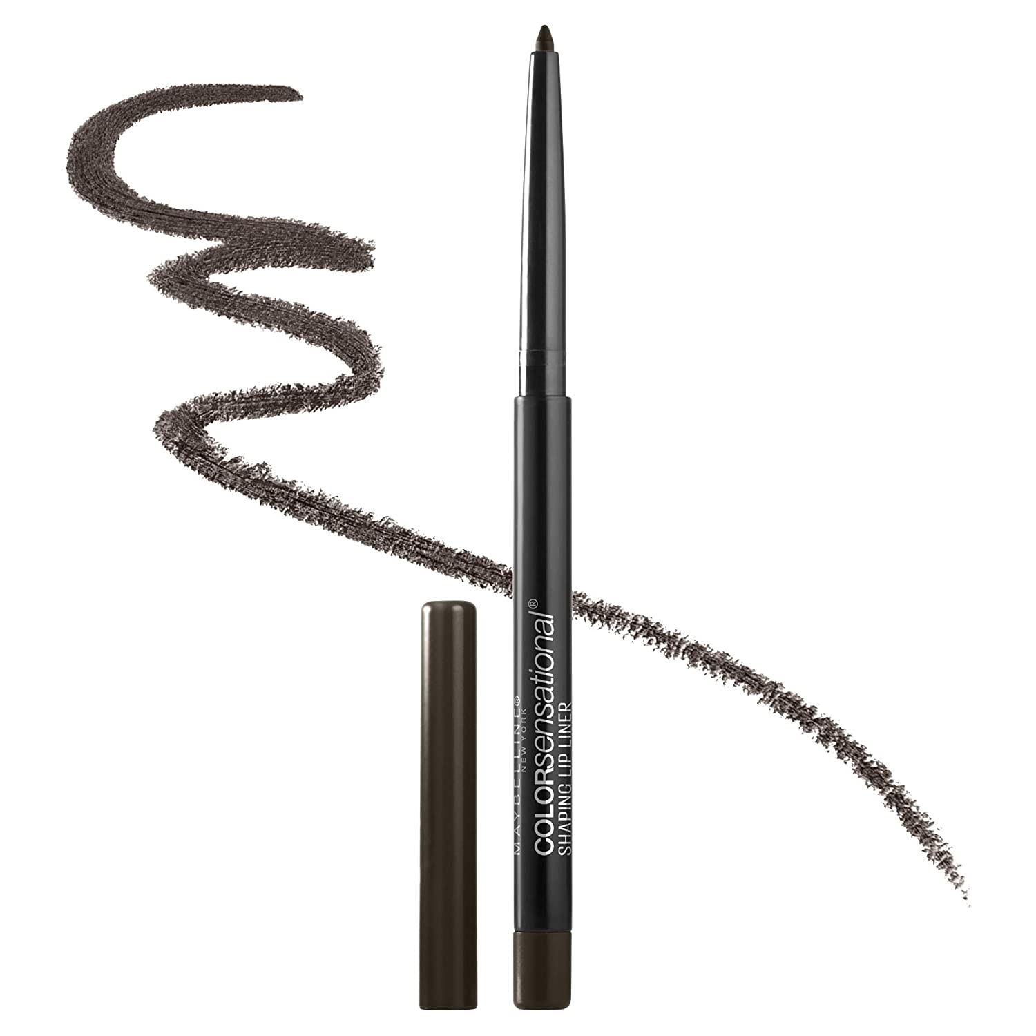 Maybelline New York Color Sensational Shaping Lip Liner Makeup, Raw Chocolate, 0.01 oz.