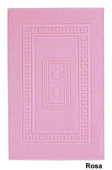 Torino Badezimmerteppich Aus Frottee 45x60 Cm Rosa Rose