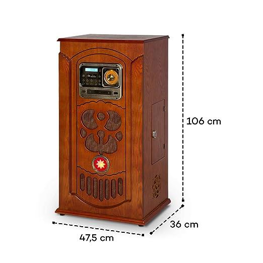 auna Musicbox Jukebox Equipo estéreo Retro: Amazon.es: Electrónica