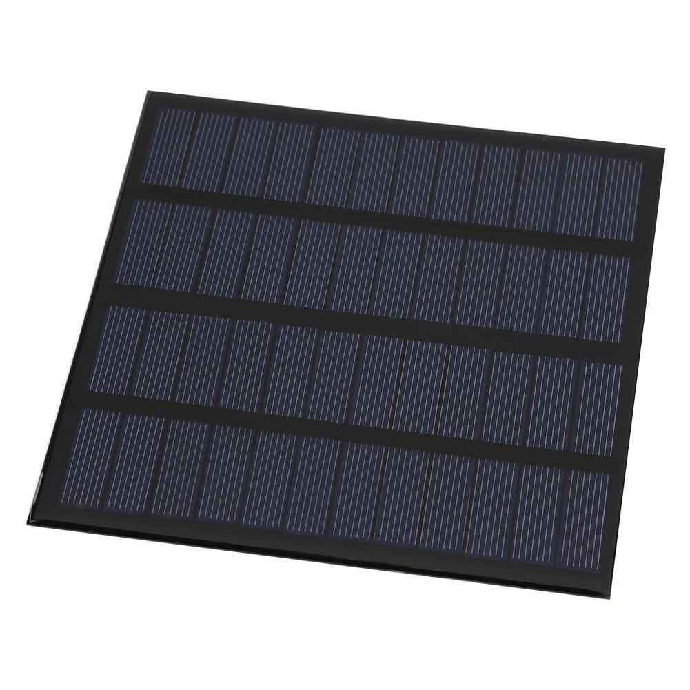 Yosooo Mini Portable Solar Panel DIY Power Module Battery Charger Home Garden Use solar display solar light 3W 12V
