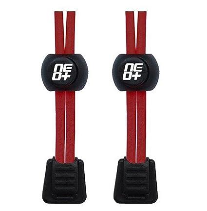 Paquetes de cordones de zapatos elásticos, con bloqueo, para correr y triatló