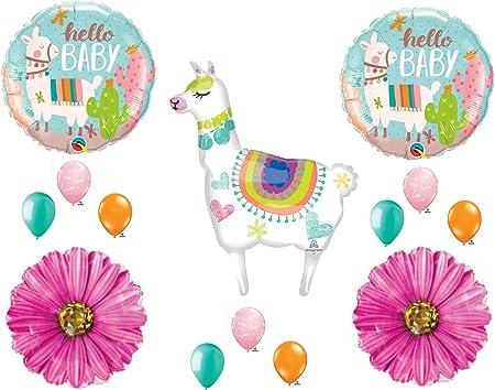 llama baby shower Mama Llama Cake Topper Cactus Baby Shower llama party Baby Llama Fiesta Baby Shower