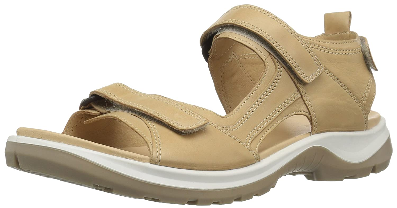 ECCO Women's Yucatan Sandal B076ZXP87X 42 EU/11-11.5 M US|Powder/Powder