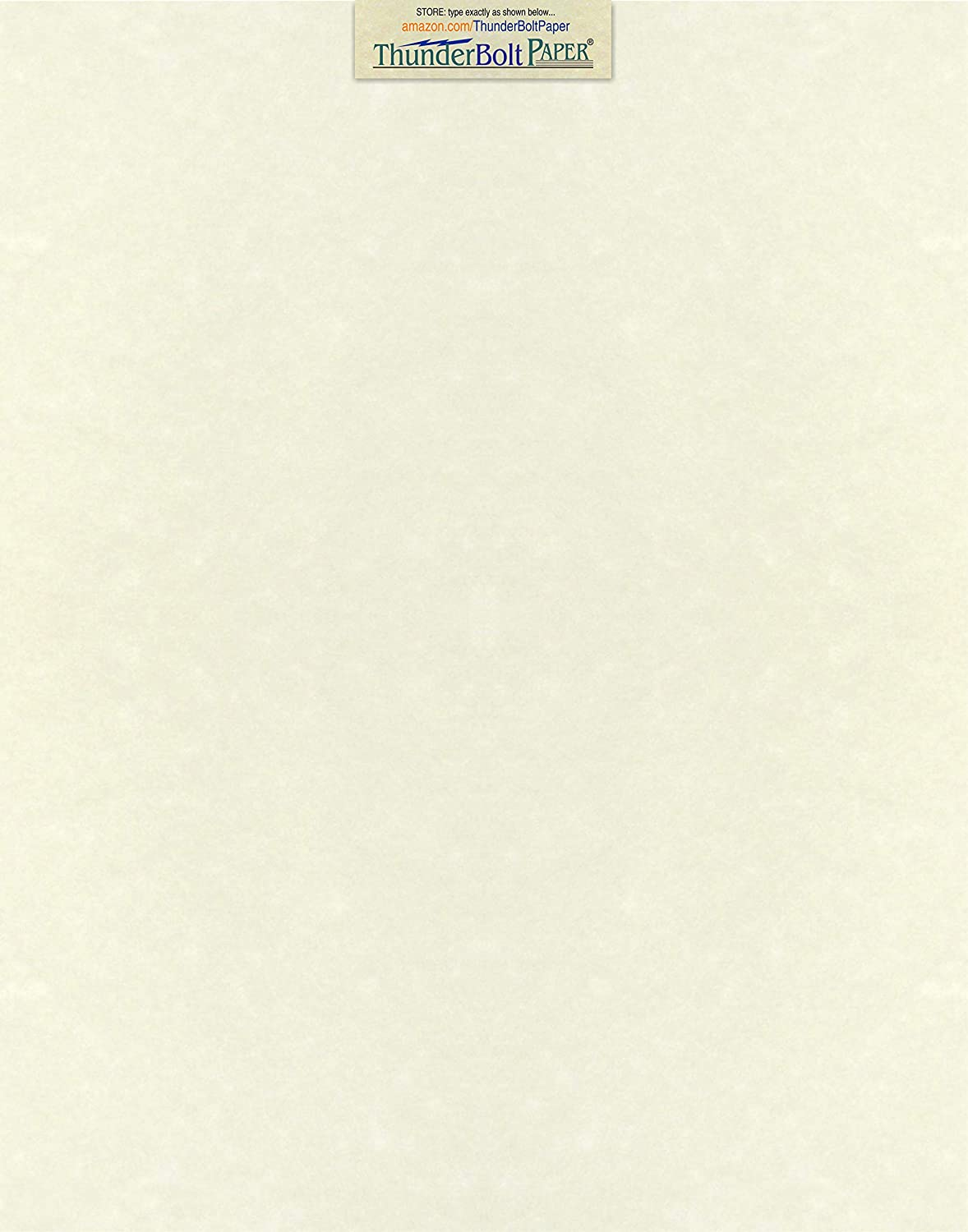 picture about Parchment Paper Printable referred to as 25 White Parchment 65lb Deal with Excess weight Paper 11\