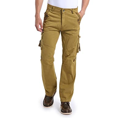 1fb349e8 Eaglide Mens Regular-Fit Outdoor Tactical Pant,Men's Multi-Function Pockets  Cotton Casual