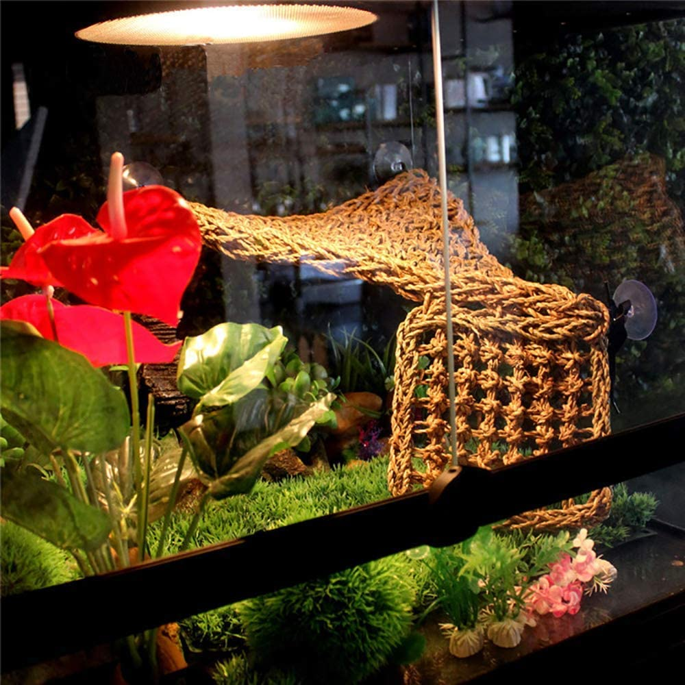 Pet Climbing Habitat Decor Simulation Reptile Vine Habitat Fake Plant Decor for Lizards Chameleons Snakes yunbox299 1Pack Flexible Hanging Reptile Jungle Vin